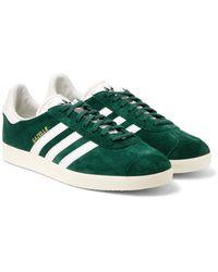 lyst adidas originals gazelle og leder aus wildleder sneakers in