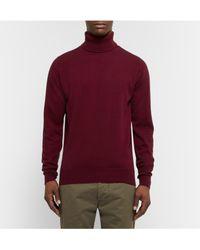William Lockie Multicolor Oxton Cashmere Rollneck Sweater for men
