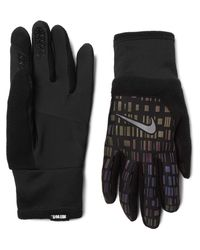 Nike | Black Vapor Flash Therma-fit Gloves for Men | Lyst