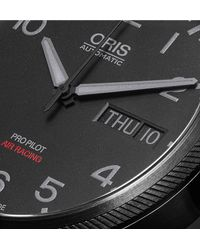 Oris Black Air Racing Edition V Stainless Steel Watch for men