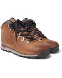 Timberland Brown Gt Scramble Waterproof Burnished-leather Boots for men