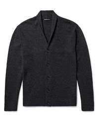 James Perse | Gray Shawl-collar Cashmere Cardigan for Men | Lyst