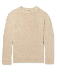 Eidos Natural Knitted Cotton Sweater for men