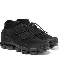 Nike Black Vapormax Flyknit Utility Sneakers for men