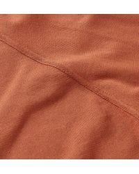 Thom Sweeney Orange Slim-fit Cotton Sweatshirt for men