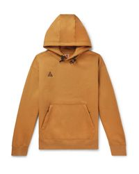 Nike Brown Logo Hoodie for men