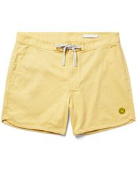 Outerknown - Yellow Beach Shorts And Trousers for Men - Lyst