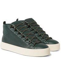 Balenciaga Multicolor Arena Full-grain Leather Sneakers for men