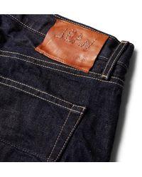 Kingsman Blue + Jean Shop Tequila's Statesman Selvedge Denim Jeans for men