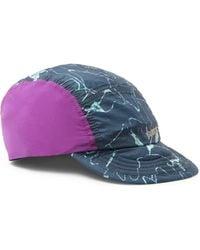 Patagonia Blue Airdini Printed Nylon-ripstop Cap for men