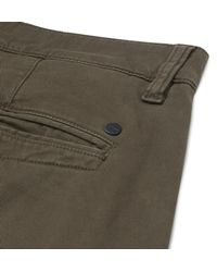 NN07 - Green Marco Slim-fit Stretch-cotton Twill Chinos for Men - Lyst