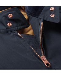 Private White V.c. Blue Cotton-ventile Bomber Jacket for men