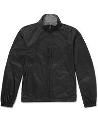 Prada Black Reversible Nylon Bomber Jacket for men