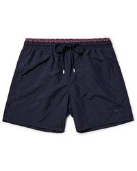 Vilebrequin | Blue Moloka Long-length Swim Shorts for Men | Lyst