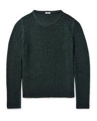 Eidos Multicolor Hine Textured-cashmere Sweater for men