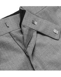 Kingsman Gray Harry's Light-grey Wool Suit Trousers for men