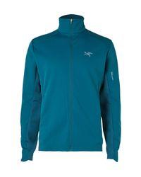 Arc'teryx Blue Trino Gore Windstopper And Atreus Jacket for men