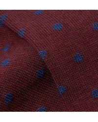 Kingsman - Multicolor + Corgi Polka-dot Cotton-blend Socks for Men - Lyst