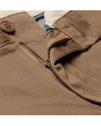 J.Crew Brown Stretch-cotton Twill Chinos for men