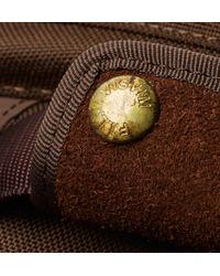 Visvim - Brown Suede-trimmed Cordura Backpack for Men - Lyst