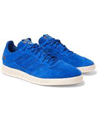 Adidas Originals Blue Footpatrol Juice Handball Top Sneakers for men