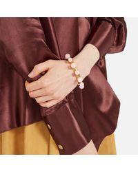 Mulberry - Pink Beads Bracelet - Lyst