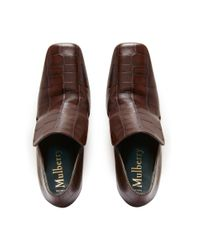 Mulberry Brown Palace Bootie