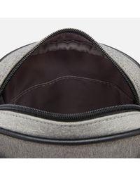 Ted Baker - Gray Niamh Core Nylon Flight Bag for Men - Lyst