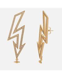 Vivienne Westwood - Metallic Isadora Earrings - Lyst