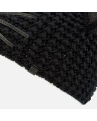 Karl Lagerfeld Black Choupette Luxury Beanie