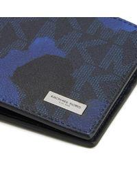 Michael Kors - Blue Men's Jet Set Billfold Wallet for Men - Lyst
