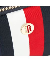Tommy Hilfiger Blue Tommy Staple Saddle Cross Body Bag