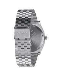 Nixon - Metallic The Time Teller Watch - Lyst