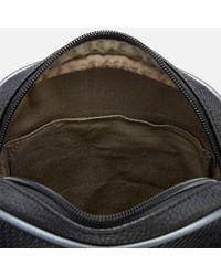 Ted Baker | Black Heliox Embossed Mini Flight Bag for Men | Lyst