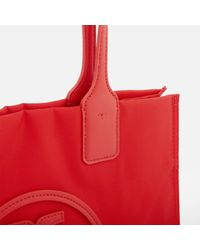 Tory Burch - Red Ella Mini Tote Bag - Lyst