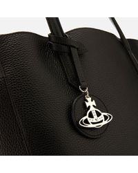 Vivienne Westwood Black Rachel Large Shopper Bag