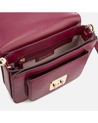 MICHAEL Michael Kors - Purple Sloan Editor Large Shoulder Bag - Lyst