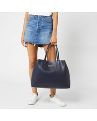 Tommy Hilfiger Blue Iconic Tommy Tote Bag