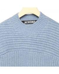 Jacquemus Blue Sweater for men