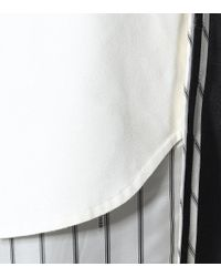 Pantalon en laine stretch Monse en coloris Gray