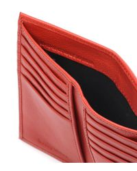 See By Chloé Red Embellished Leather Wallet