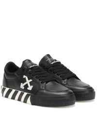 Baskets Arrow Low en cuir Off-White c/o Virgil Abloh en coloris Black