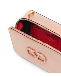 – Sac à bandoulière VSLING Medium en cuir Valentino en coloris Natural
