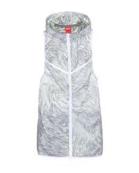 Nike - Gray Tech Hyperfuse Jacket - Lyst