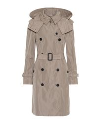Burberry Natural Technical Fabric Trench Coat