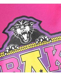 Balmain Pink X Beyoncé T-Shirt aus Baumwolle