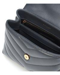 Saint Laurent Multicolor Loulou Toy Leather Shoulder Bag