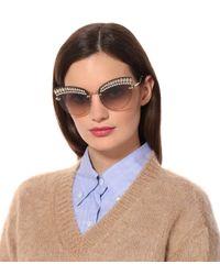 Miu Miu Metallic Cat-Eye-Sonnenbrille Scenique