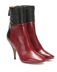 Petar Petrov Multicolor Selma Leather Ankle Boots