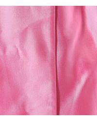 Rosie Assoulin - Pink Silk Taffeta Coat - Lyst